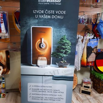 Reklamni display sistemi Roll-up