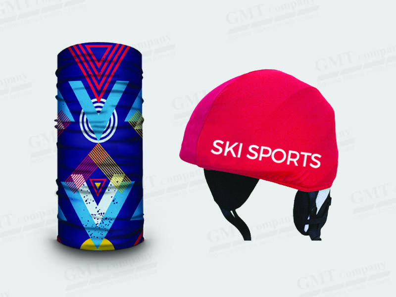 Bandana Helmet cover ski sports