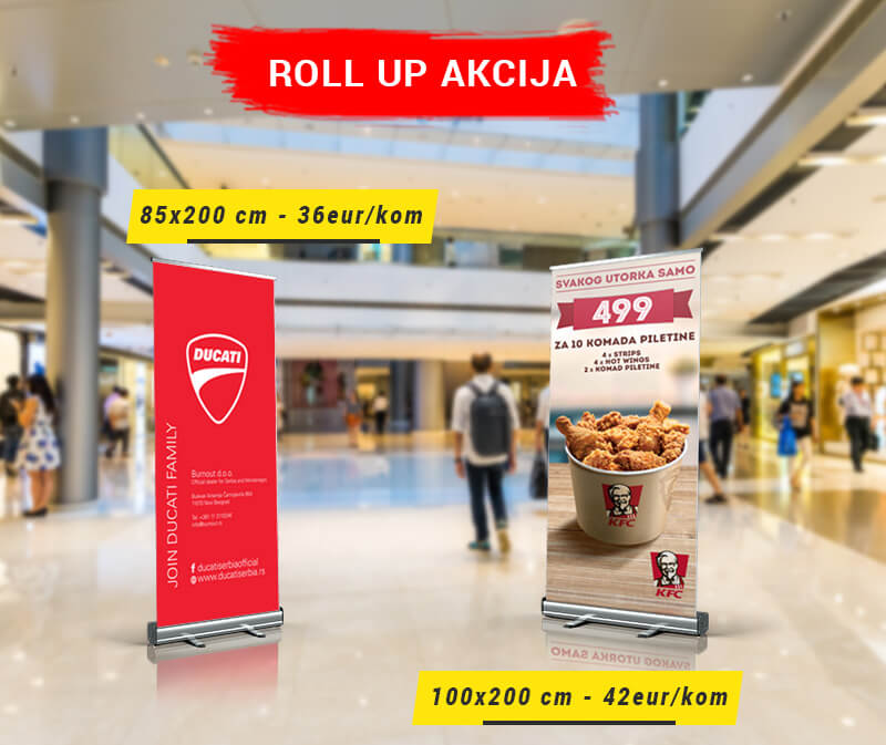 roll up tesktilni akcija gmt | roll up textile sale action gmt