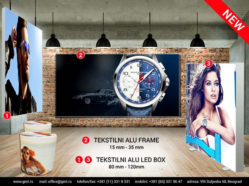 promo retail tekstilni ledbox gmt | promo retail textile led box gmt