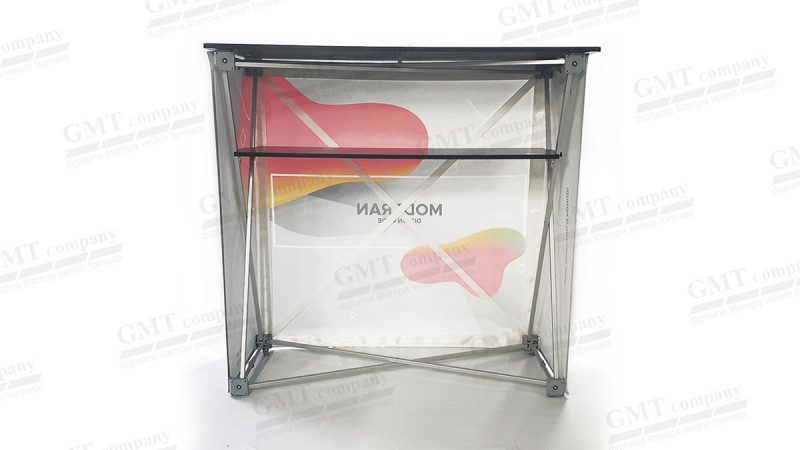 pop up counter reklamni pult 5 gmt | roll up counter desk 5 gmt