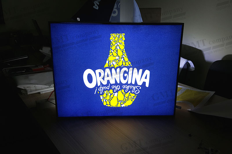 alu led box tekstilna svetleca reklama orangina 2 gmt