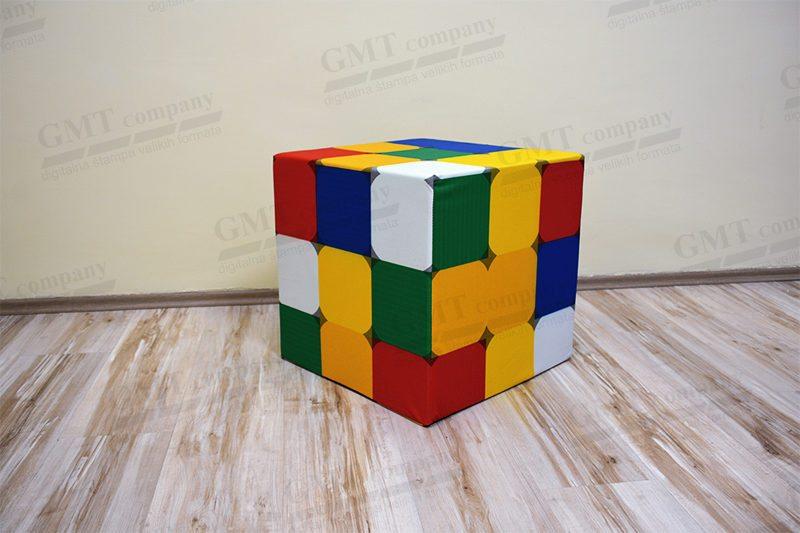tabure rubik kocka print