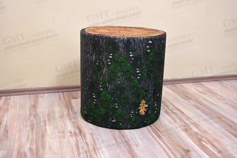 tabure print drveta