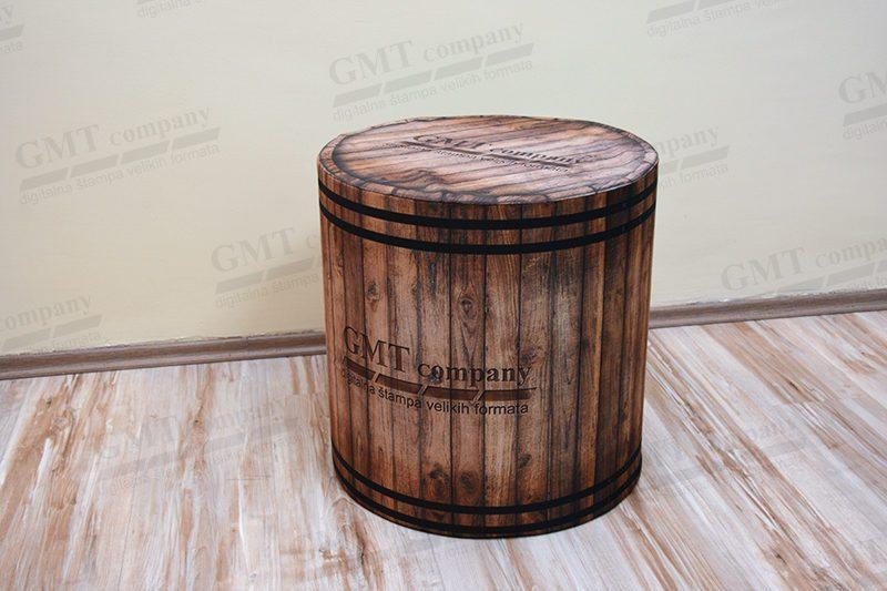 tabure, print drveta